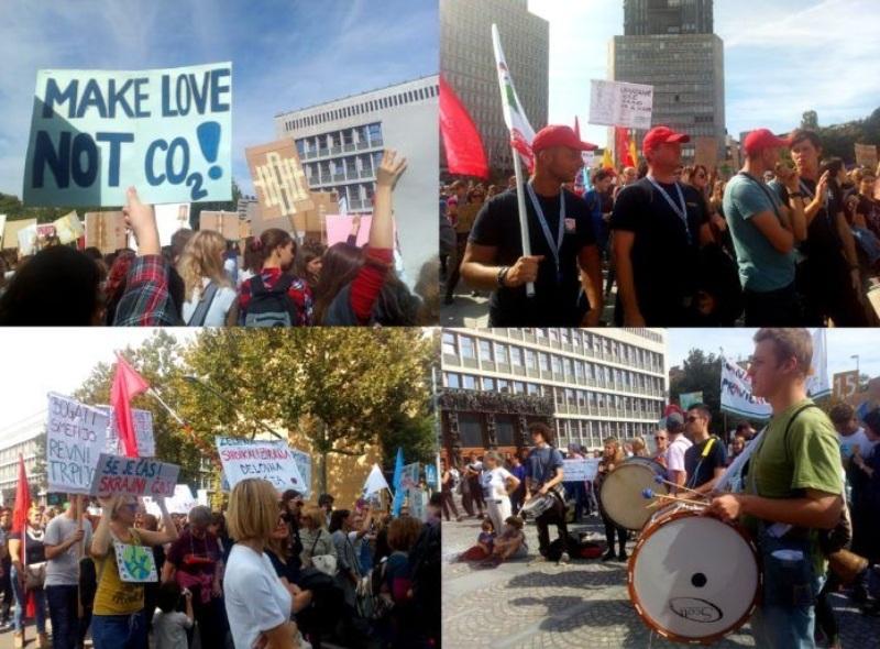 Vseslovenski podnebni štrajk